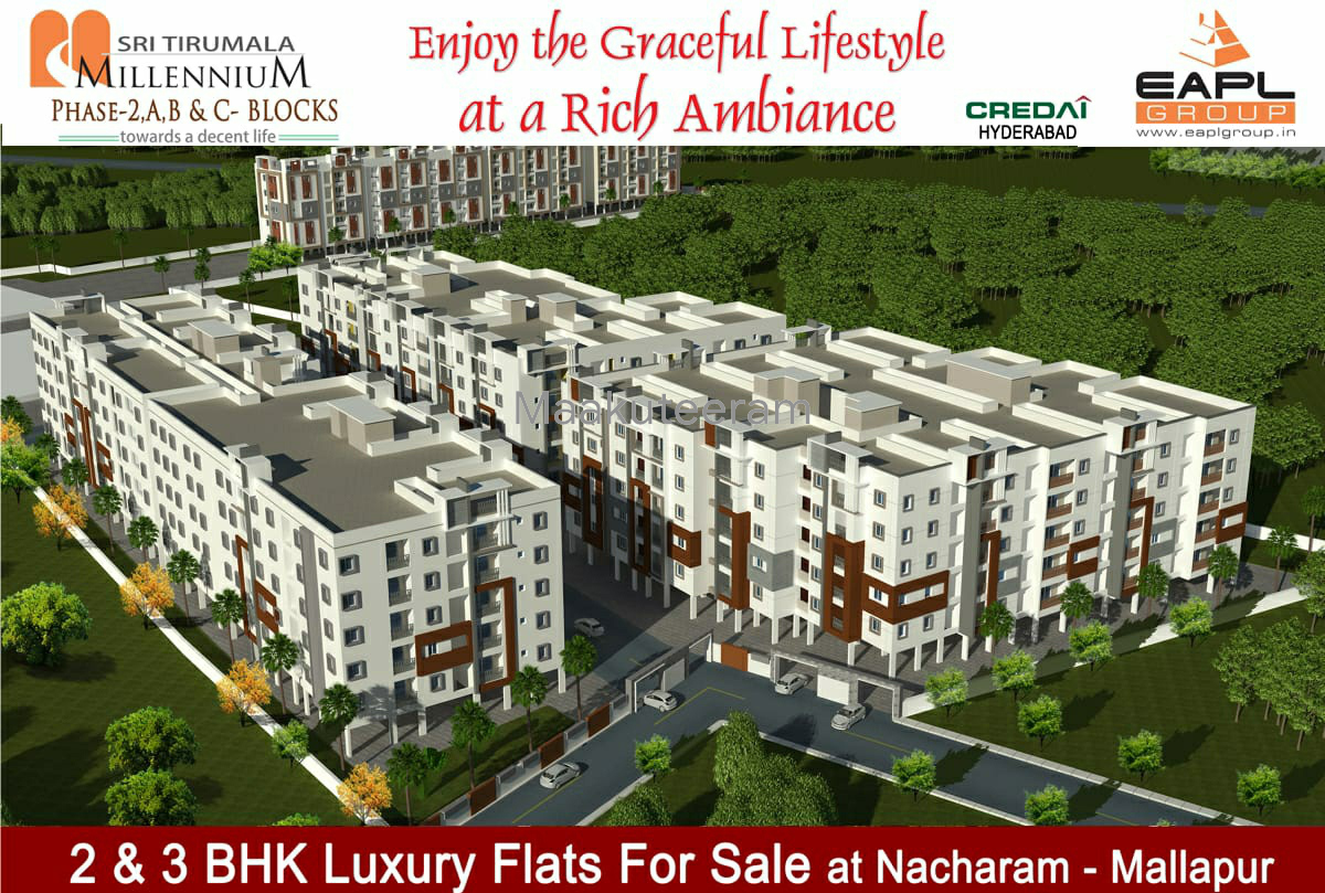2BHK Apartment flats for sale in Mallapur Hyderabad